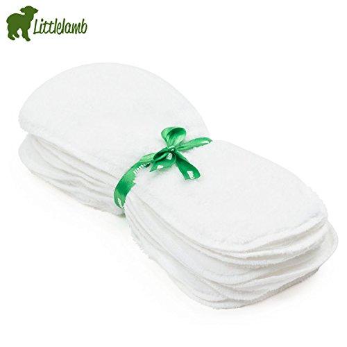 Little Lamb waschbares Windelvlies Fleece (10 Stück) - Größe 2 (35x14 cm) - super softes Windelfleece, Fleece-Einlagen, Stoffwindel-Fleece für Stoffwindeln.washable Fleecy Nappy Liners 10er-Set