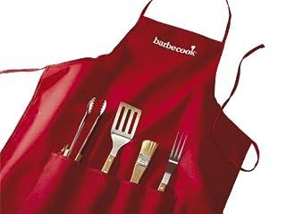 Barbecook 223.0170.000 Schürze mit 4-Teiligem Grillset (B0015N31TS) | Amazon Products