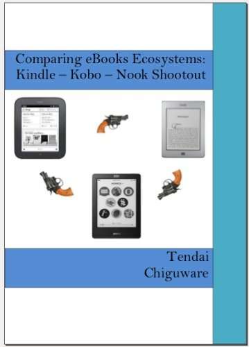 Comparing eBooks Ecosystems: Kindle - Kobo - Nook Shootout ...