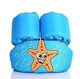XIANGMAI Cartoon 1-6 Alter Kinder Schwimmweste Auftrieb Arm Schaum Rettungsring Schwimmen Kreis Jungen Mädchen Schwimmen Anzug Arm Schwimmen Ring Pool Zubehör (Blue)
