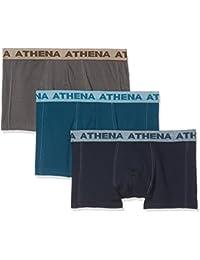 Athena Authentic, Boxer (Lot de 3) Homme