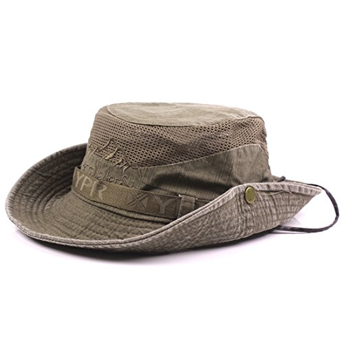 Thenice Unisex Cotton Sun Cap Ou...