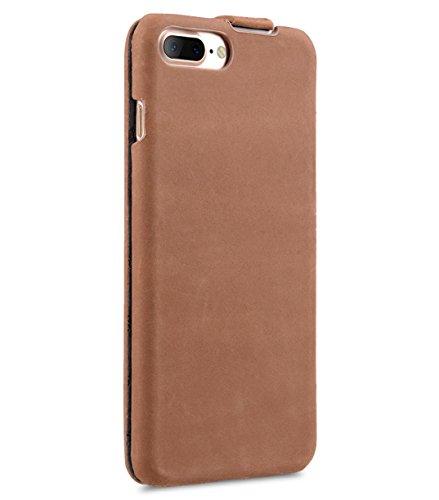 Apple Iphone 7 Melkco Elite-Serie Premium Leder-Snap zurück Tasche Tasche mit Premium-Leder Handgefertigte gute Schutz, Premium Feel-Tan Klassische Vintage Brown 3