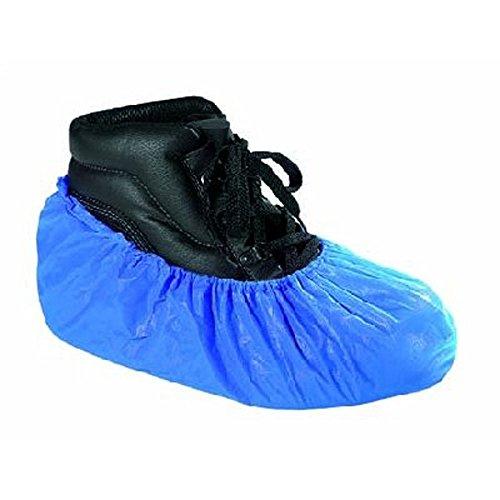 RMB Einweg Arbeits Schuh Überzug blau 100 Stück im Paket extra stark, Blau, Einheitsgröße