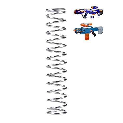N Longshot Strike Nerf (BOROK 18KG Upgrade Spring Feder Tuningfeder für Nerf Langschuss Zombie Strike Zed Squad CS-12/Nerf N-Strike Elite Longshot CS-6 Nerf N-Strike Mega BigShock)
