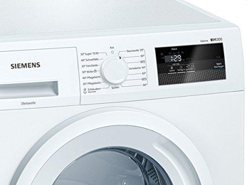 Siemens WM14N060 iQ300 Waschmaschine FL / A+++ / 137 kWh/Jahr / 1400 UpM / 6 kg / Großes Display mit Endezeitvorwahl / weiß - 4
