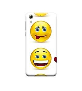 Ebby 3d printed back case cover for HTC 728(Premium Designer Case)
