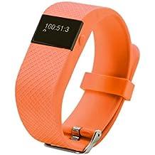masterein JW86Smart pulsera actualizado de TW64SmartBand Smart pulsera Monitor de frecuencia cardiaca Bluetooth Fitness Tracker