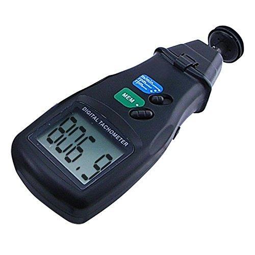 2 in 1 Digital-Laser-Foto-Tachometer -nicht Kontakt und Kontakt (Kontakt-tachometer)