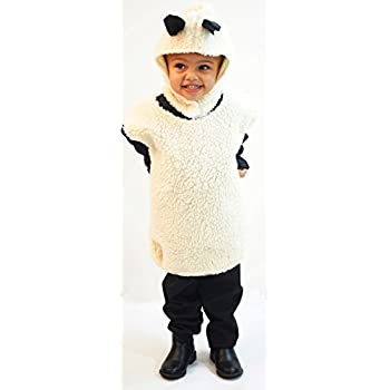 Nativity-Christmas-World Book Day-Farm FLUFFY SHEEP TABBARD Childu0027s Fancy Dress Costume  sc 1 st  Amazon UK & Nativity-Christmas-World Book Day-Farm FLUFFY SHEEP TABBARD Childu0027s ...