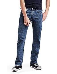 Levi's 501 Original Fit Men's Jeans, Blue (Medium Stonewash), 29W x 34L