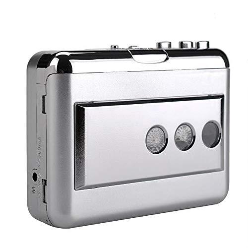 Docooler ezcap218B USB-Kassetten-Konverter in Computer Stereo HiFi Sound Qualität Bass Audio Musik Player AUX IN AUX Ausgang