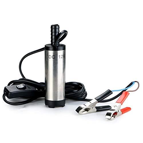 Portatile diesel diesel diesel dell'acqua della pompa per l'immondizia del diesel dell'acqua diesel dell'acciaio inossidabile per l'argento dell'automobile con le clip dell'alligato
