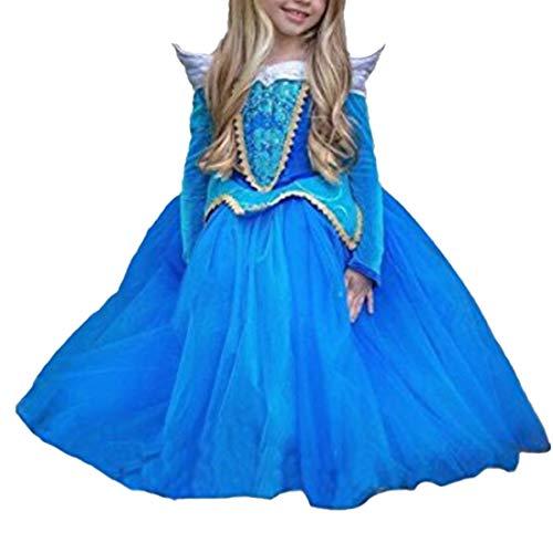 faschingskostuem eiskoenigin elsa Mädchen Prinzessin Kostüm Eiskönigin Kleid für Mädchen Karneval Verkleidung Party Cosplay Faschingskostüm Festkleid Weinachten Halloween Fest Kleid Cinderella