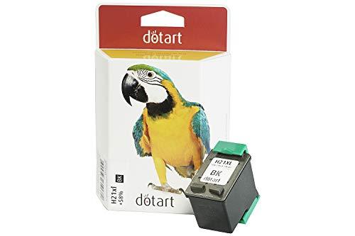 Cartucho tinta Dotart remanufacturado HP 21XL negro