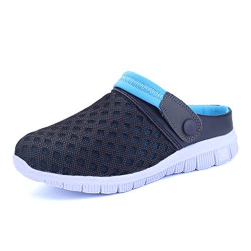 Iluminados Livre Céu Xianv Respirável Deslizamento No Malha Fracasso Ar Casual Nova Sapatos Dos Homens Azul Praia Aleta Chinelos Ao Sandálias ggB8wO
