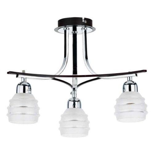 ALFA SUSAN WENGE 3 Spotlight Spot Lustres Lustre Lampes suspendues Lampes de Plafond