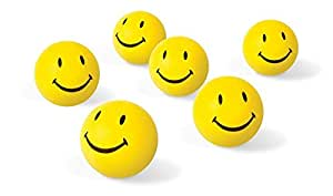 Buy 12 Pcs Set of Smiley FACE Squeeze Ball Online at Low ...