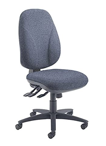 Office Hippo Ultra High Back Ergonomic Desk Chair with Torsion Control - Charcoal