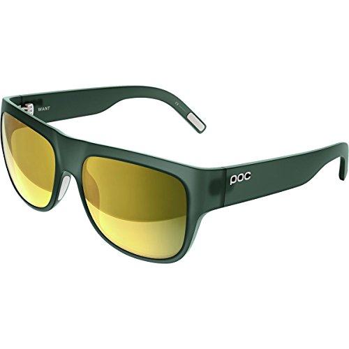 POC Want Gafas, Unisex Adulto, Verde (harf Translucent), Talla Única