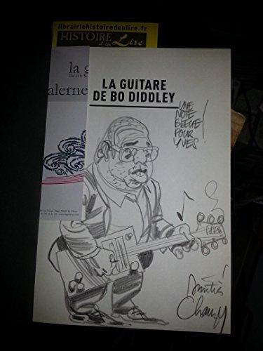 La guitare de Bo Diddley Rivages Casterman Noir 2009 Envoi + dessin de l'auteur