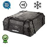 LUVODI Dachkoffer Auto Dachbox Faltbare Gepäckbox Wasserdicht für Reise Cargo Carrier Bag haltbar PVC 425L