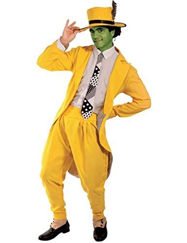 (Manischer Superheld Kostüm Karneval Herren Verkleidung Mottoparty Standard)