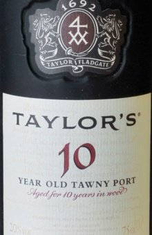 Taylor's Port Tawny 10 years old 20 % - 0.75 Liter