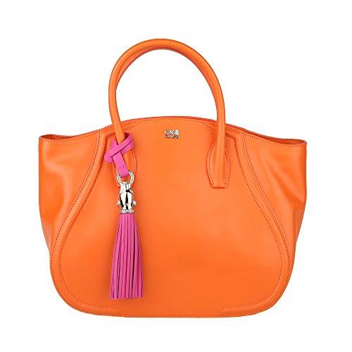 Roberto Cavalli Class Frau Handtasche 33.5x25x13 Cm Mod. C60PWCHS0022B79 Orange - fucsia