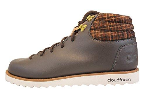 adidas Herren Cloudfoam Rugged Turnschuhe, Marrón (Marosc / Marosc / Madera), 44 EU