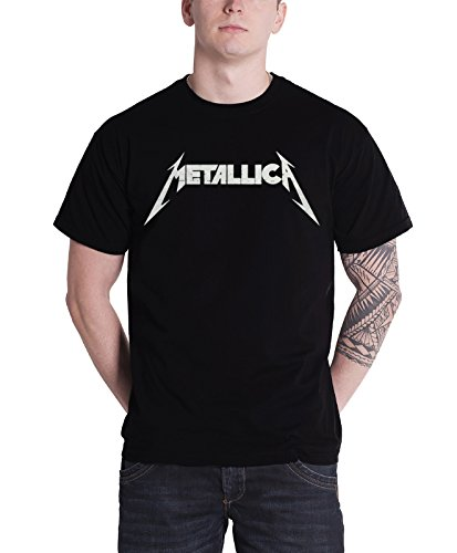 Metallica T Shirt Master of Puppets Tour 1986 Photo offiziell Herren Nue Schwarz (T-shirt Tour 1986)
