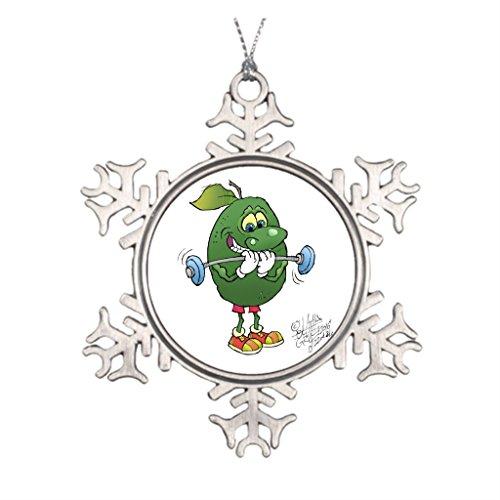ado, rund Dekoration. Metall Ornament ()