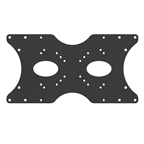 PureMounts PM-ADAPT-B Universeller VESA Adpapter VESA 50x50 bis 400x200, 1-teilig, schwarz (32 Plasma Tv De)