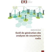 Outil de génération des analyses de couverture radio