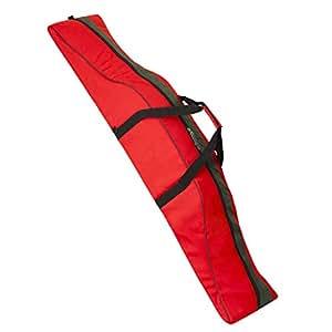 Foam padded snowboard boardbag EXPLORER with backpack function org. PAUL KURZ red / black - High end!