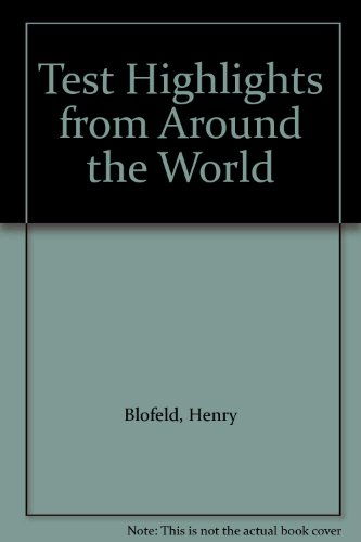 Test Highlights from Around the World por Henry Blofeld