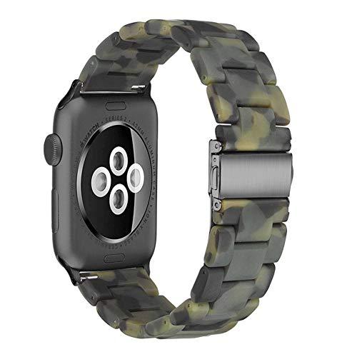 für Apple Watch Serie 1/2 / 3/4 Sport Version 38/42/40/44 mm, Kunstharz-Armband ()