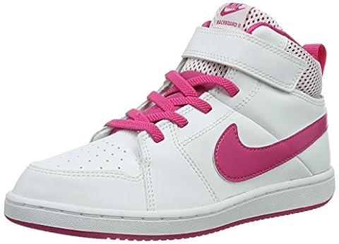 Nike - Chaussures Backboard 2 Mid Kid - Multicolore -