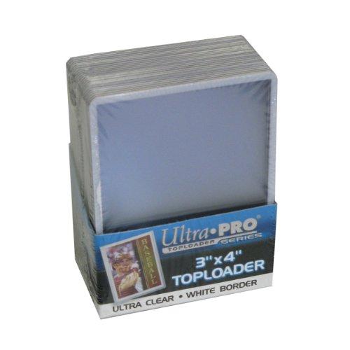 Ultra Pro Toploader 7,6 x 10,2 cm, Weiß