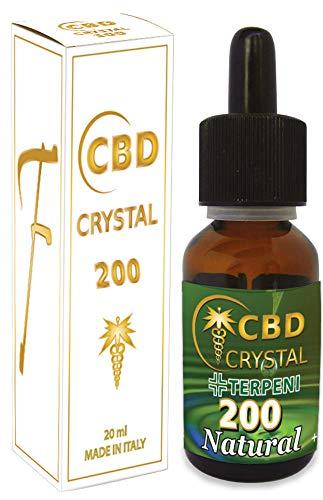 E-Liquido CBD Crystal 200 20ml/200mg cbd Liquido para Cigarrillo electronico. SIN NICOTINA.