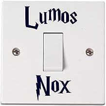 Harry Potter Interruptor con palabras 'Lumos/Nox', 2 unidades