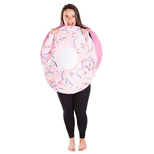 Donut Kostüm (Lebensmittel & Getränke Kostüm für Erwachsene)
