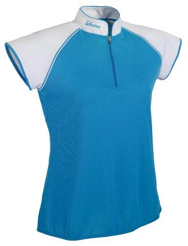 Cycling Schwinn Jersey (Schwinn Damen Classic Jersey, damen, blau)