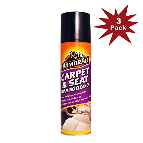 Price comparison product image Armorall Carpet & Seat Foaming Cleaner 3pk