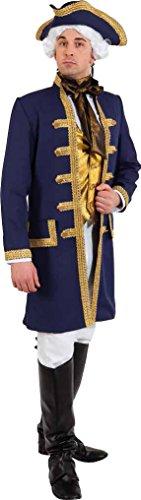 Herren Kostüm historische Barock Jacke zu Karneval Fasching Gr.58/60 (Historische Kostüme)