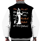 Cloud City 7 Wizard of Oz Im The Wicked Witch of Everything Men's Varsity Jacket