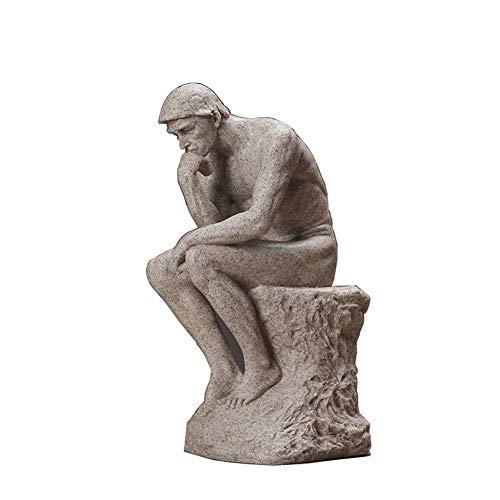 Pensador Escultura Decoración