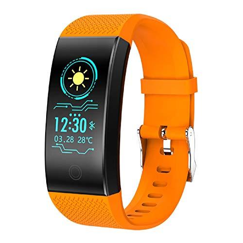 GreatFunSmart Watch Multifunktionssportuhr Fitness Aktivität Herzfrequenz Tracker Ip68 Wasserdichte Smart Watch Smart Armband, Sportuhr Geeignet für Kinder Erwachsene Ältere