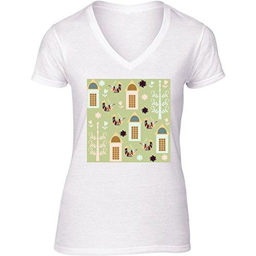camiseta-blanca-con-v-cuello-para-mujer-tamano-s-patron-de-las-aves-by-luizavictorya72