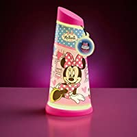 Minnie Mouse Go Glow Night Beam Tilt Torch by Worlds Apart